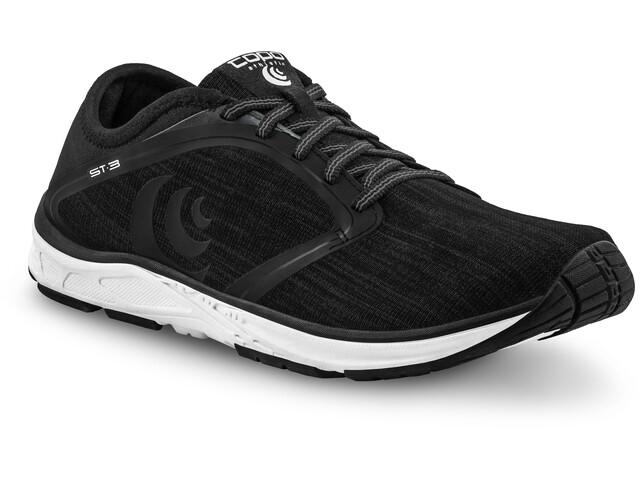 Topo Athletic ST-3 Zapatillas Running Hombre, black/grey